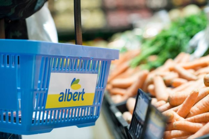 Albert Rozšíří Darování Potravin