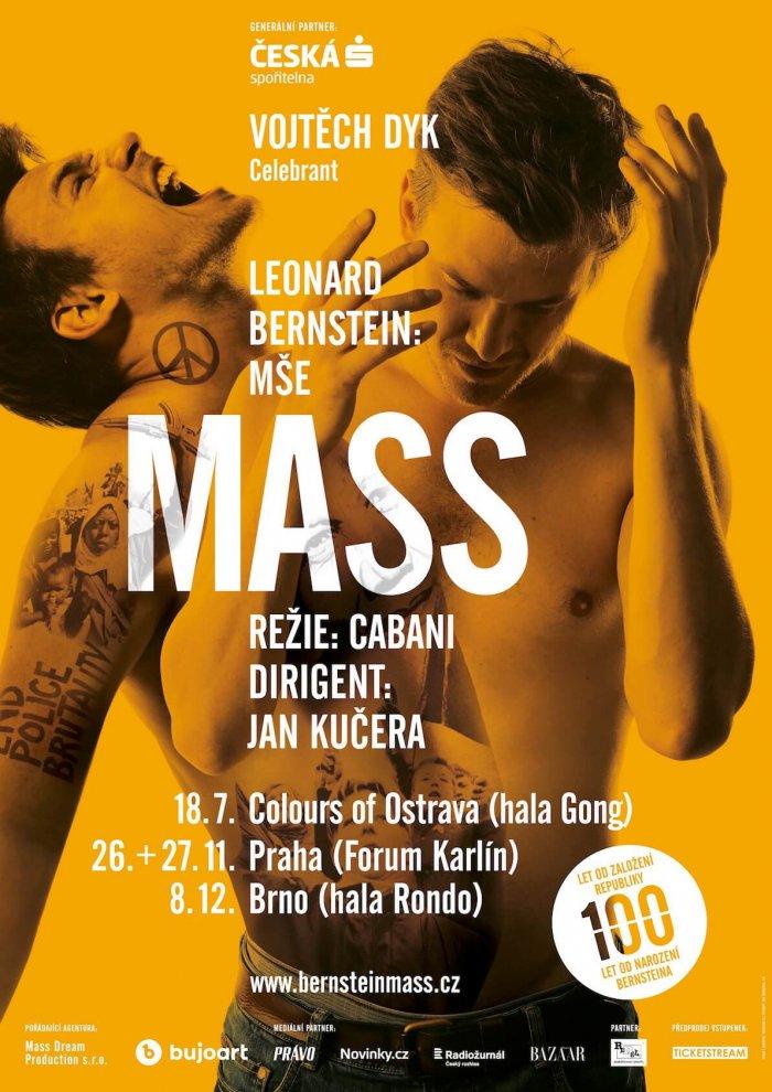 Bernsteinovu MŠI S Dykem čeká Speciální Uvedení I Samostatné Koncerty