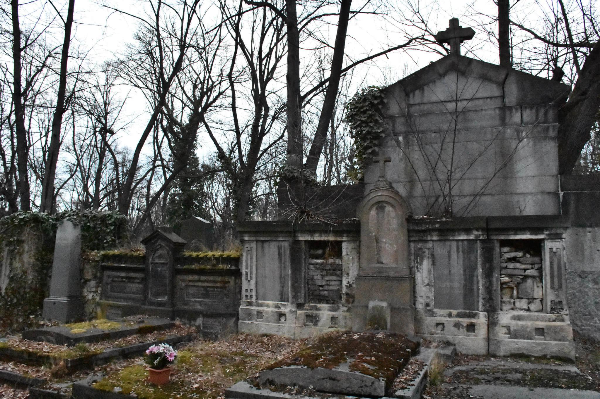 Olšanské hřbitovy, foto jk
