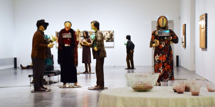 Art Show Edward Nancy Reddin Kienholz Foto Marie Claire Krahulec Berlinische Galerie