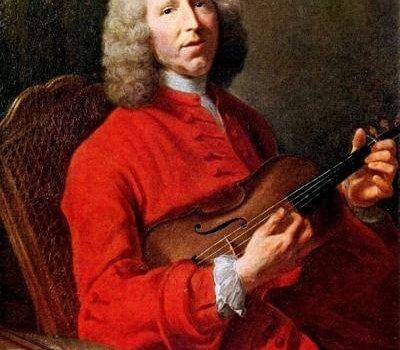 Attribué à Joseph Aved, Portrait De Jean Philippe Rameau (vers 1728) 001