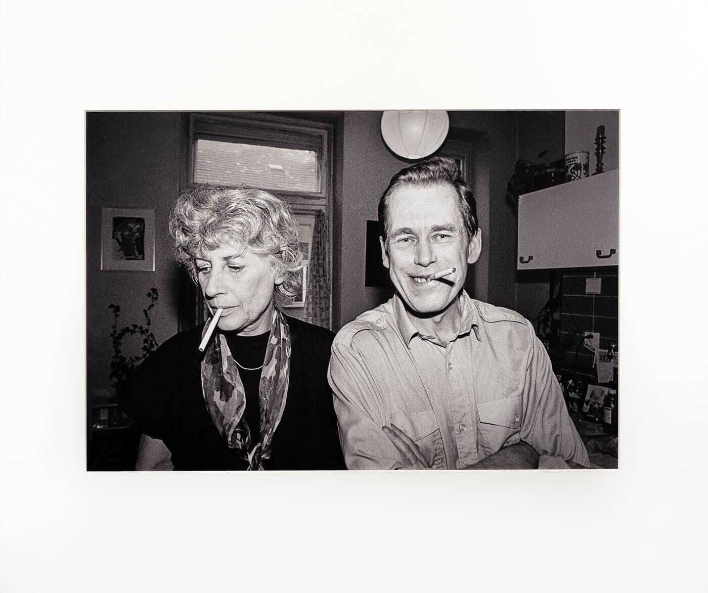 Portrét Manželů Havlových; foto: Dobrovsky