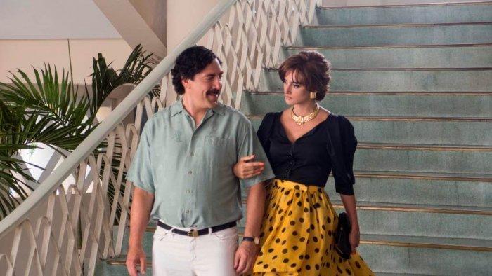 Javier Bardem Bude Escobar, Penélope Cruz Jeho Milenka