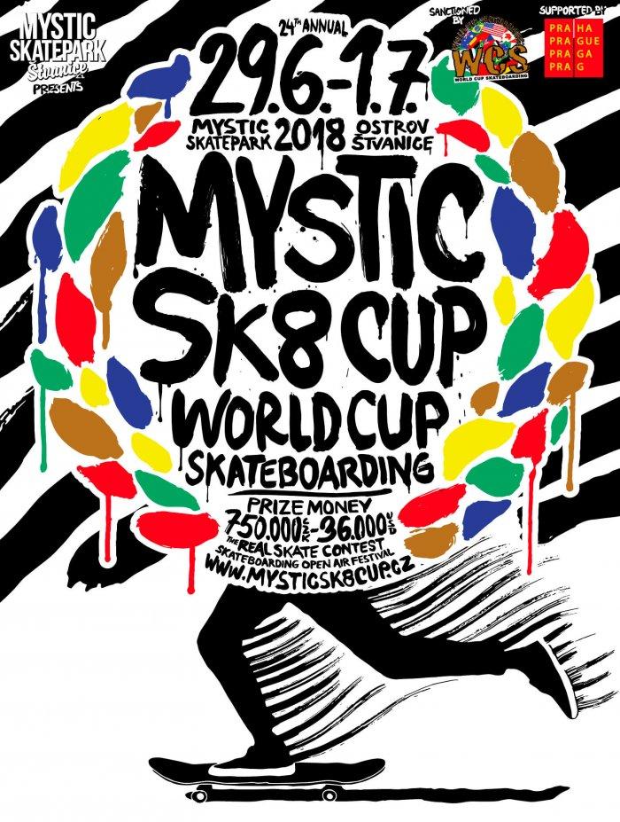 Oblíbený Mystic Sk8 Cup 2018 Bude Na Konci června