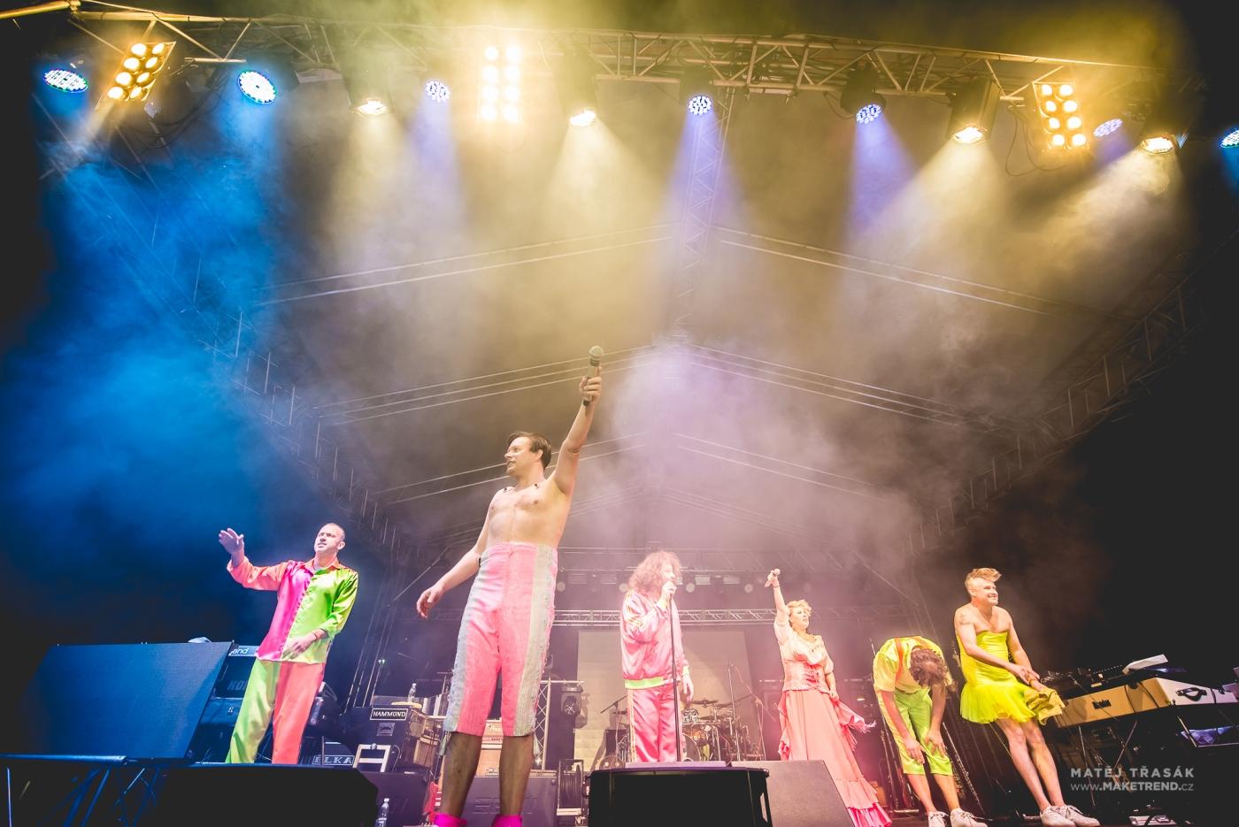 Monkey Business - koncert Žluté Lázně 2017, foto 2media
