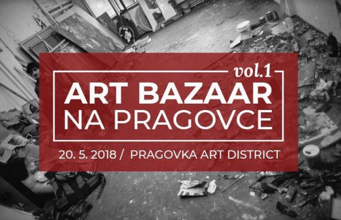 Na Pragovce Bude Art Bazar