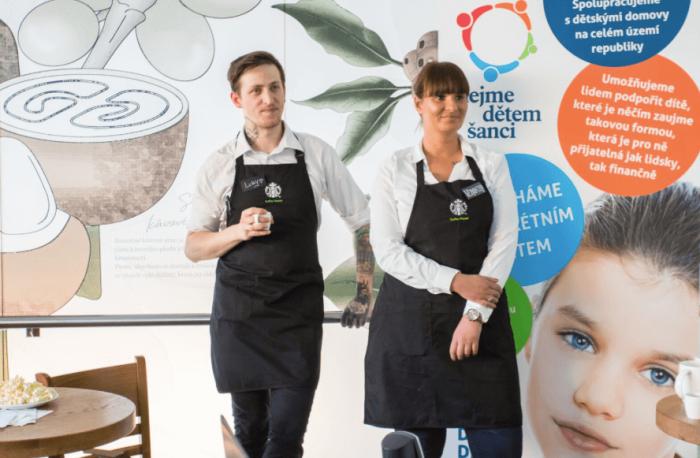 Starbucks Pomáhá Dětem Z Dětských Domovů K úspěšnému Vstupu Do života