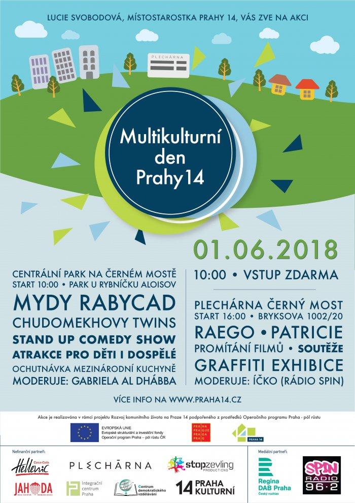 Multikulturní Den Prahy 14 Nabídne Hudbu, Standup I Jídlo