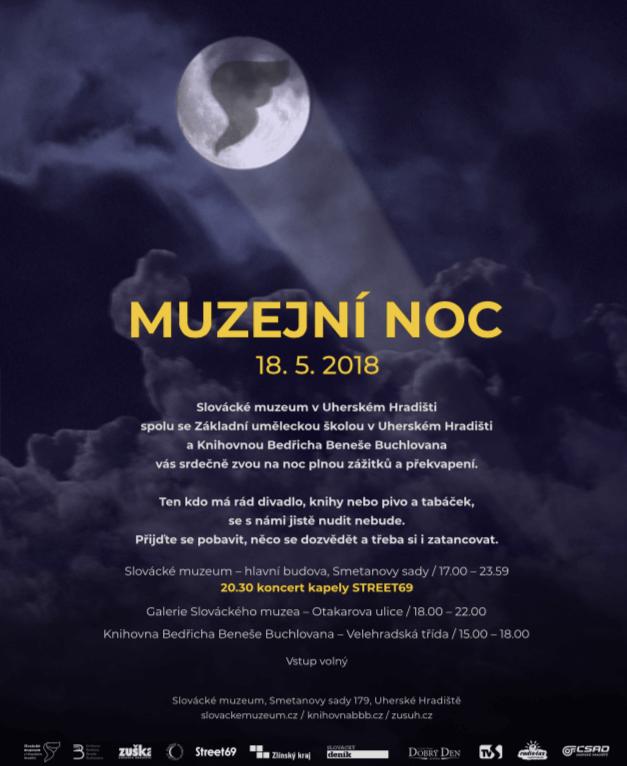 Do Parku Na Koncert Street69 – Muzejní Noc 2018 Ve Slováckém Muzeu