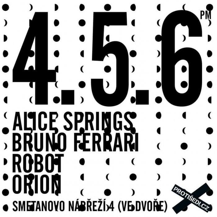 4.5.: Alice Springs, Robot, Orion. A JÍST JÍDLO