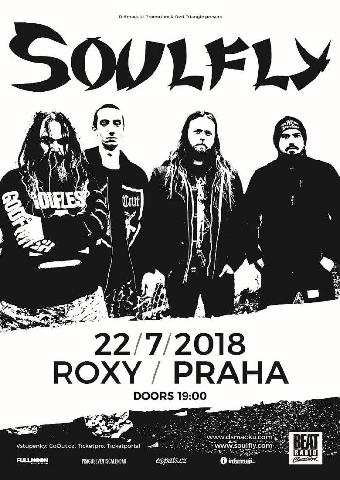 Soulfly Se Včervenci VRoxy Vrátí Kjihoamerickým Kořenům