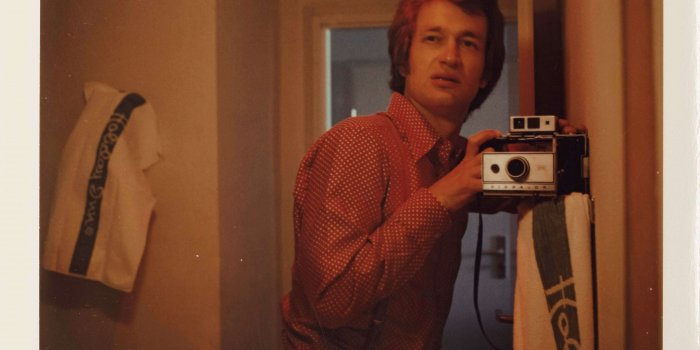 Selfportrait, 1975 -  © Wim Wenders . Courtesy Wim Wenders Foundation