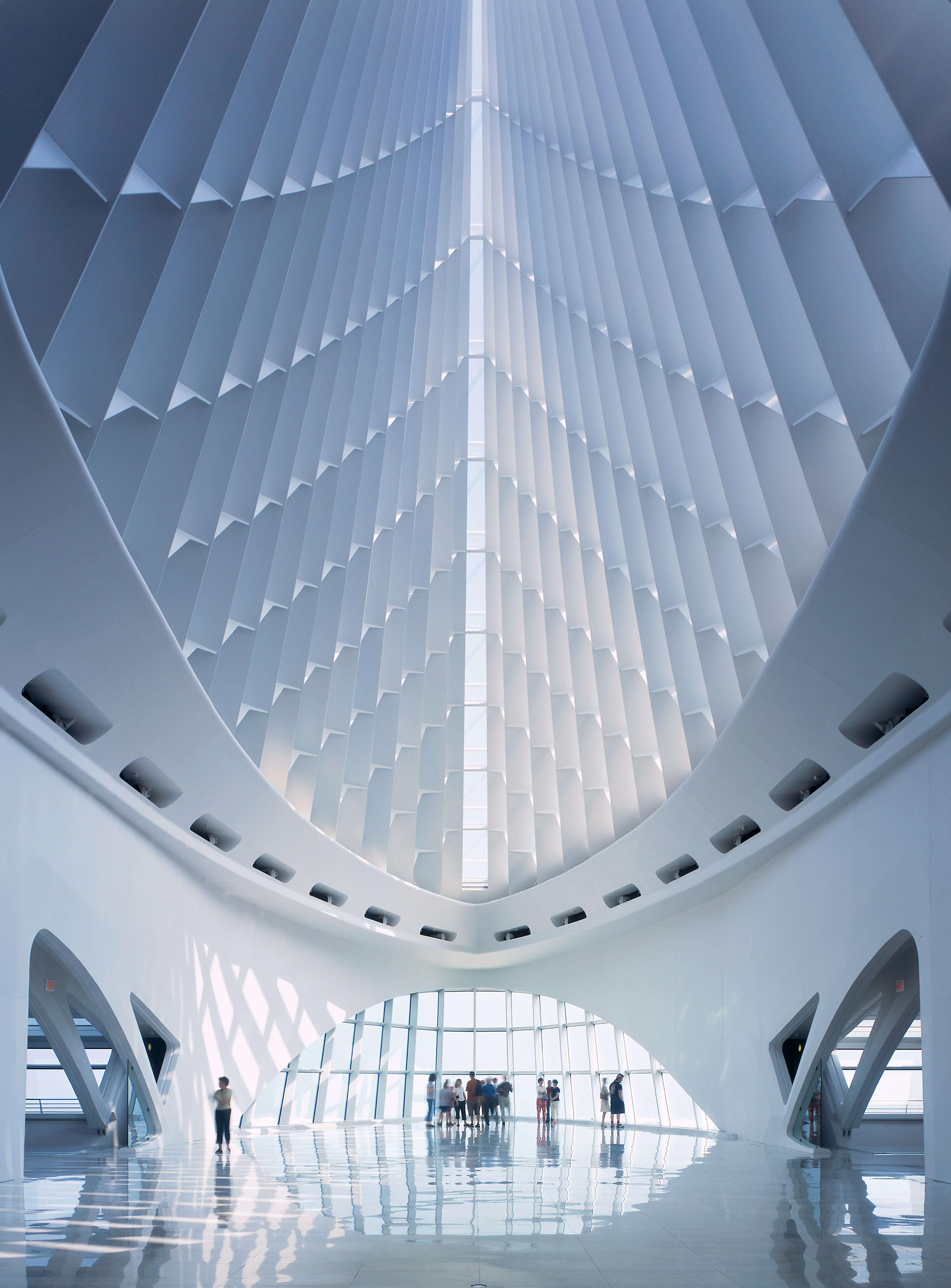 Architect: Santiago Calatrava, Zurich, Switzerland
