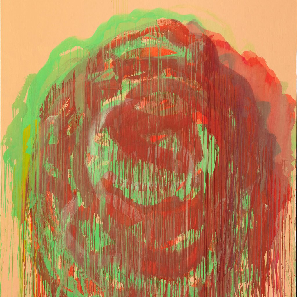 Cy Twombly Untitled (Roses)   2008 © Cy Twombly Foundation   Foto: Bayrische Staatsgemäldesammlungen