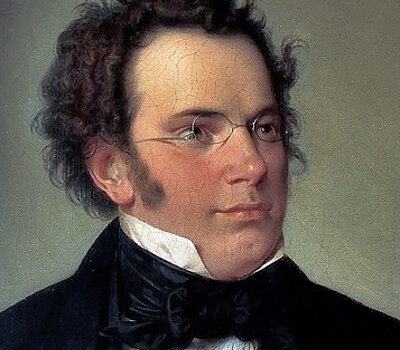 Franz Schubert By Wilhelm August Rieder 1875 (výřez), Public Domain
