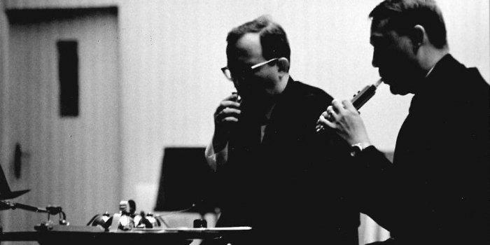 Koncert Musica Viva Pragensis V Donaueschingenu, říjen 1968; Foto: Marek Kopelent