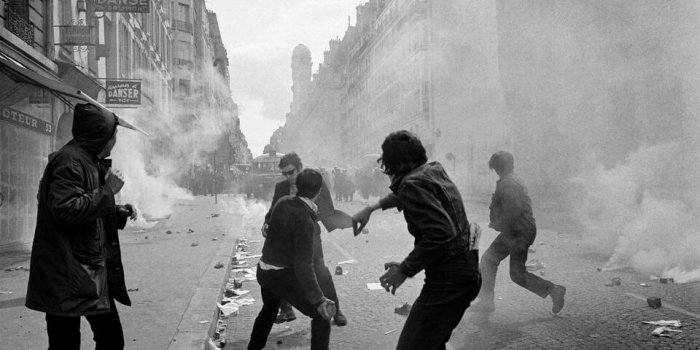1968 V Paříži. Foto Francouzský Institut V Praze