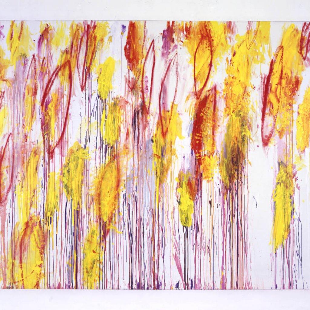 Cy Twombly Lepanto I | 2001 210,8 x 287,7 cm Foto: Haydar Koyupinar © Cy Twombly Foundation