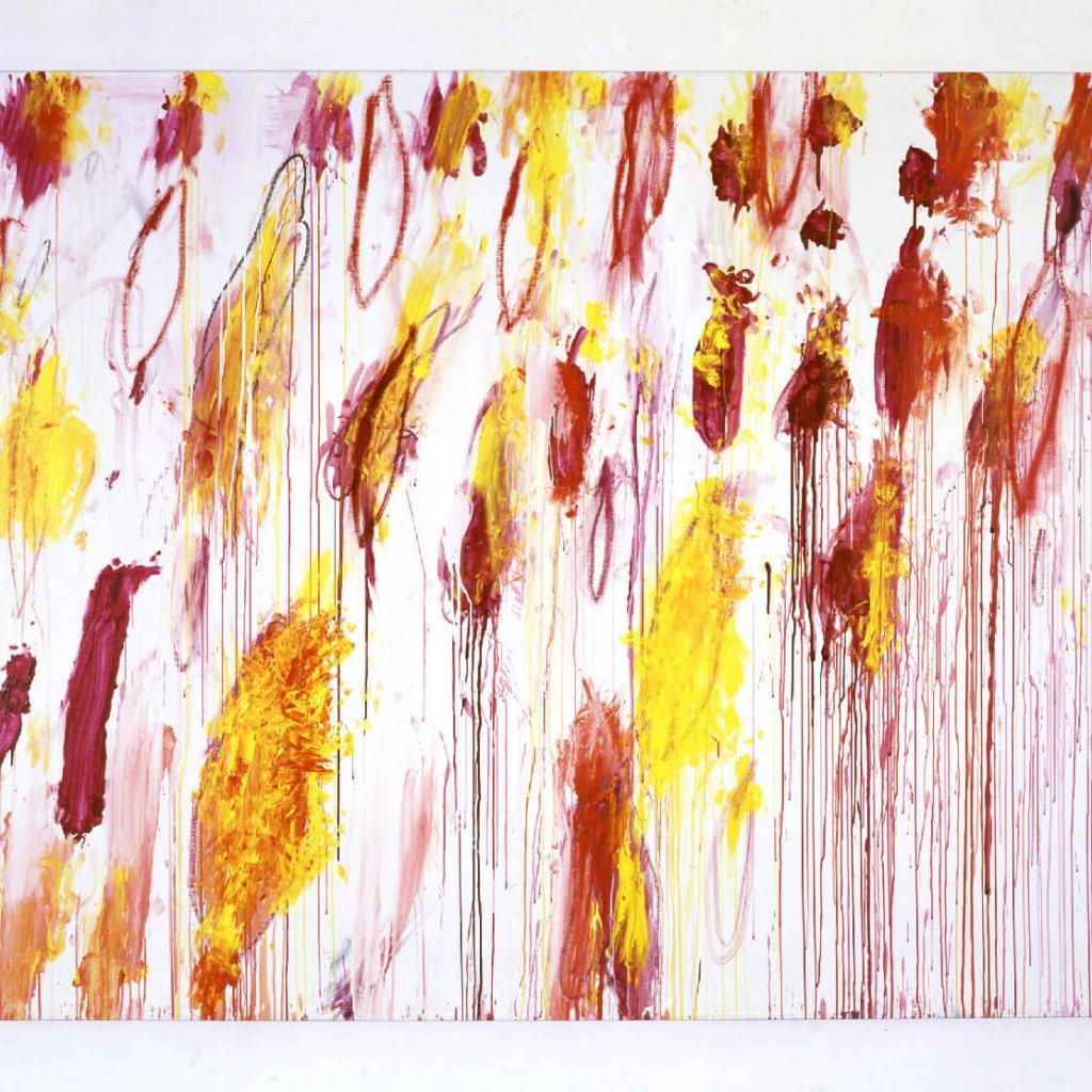 Cy Twombly Lepanto IV | 2001 214 x 293,4 cm Foto: Haydar Koyupinar © Cy Twombly Foundation