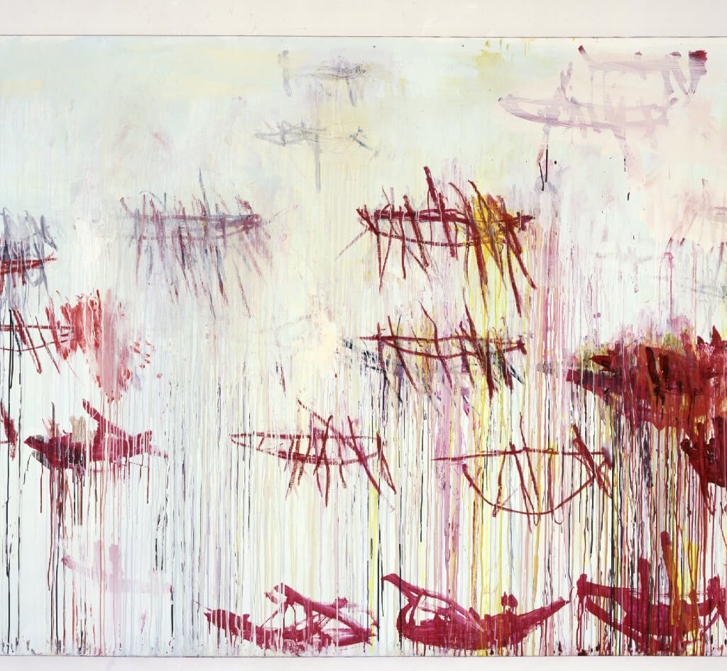 Cy Twombly Lepanto IX | 2001 215,3 x 335,3 cm Foto: Haydar Koyupinar © Cy Twombly Foundation