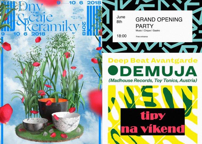 Tipy Na Víkend 8.- 10. 6. 2018: Hastrman, Výstavy, Filmy, Techno A Vegetariáni.