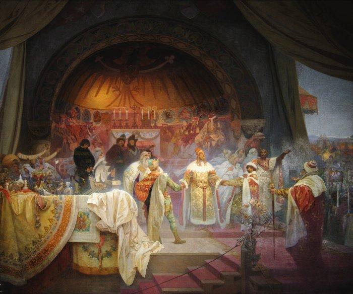 Slovanská Epopej V Obecním Domě