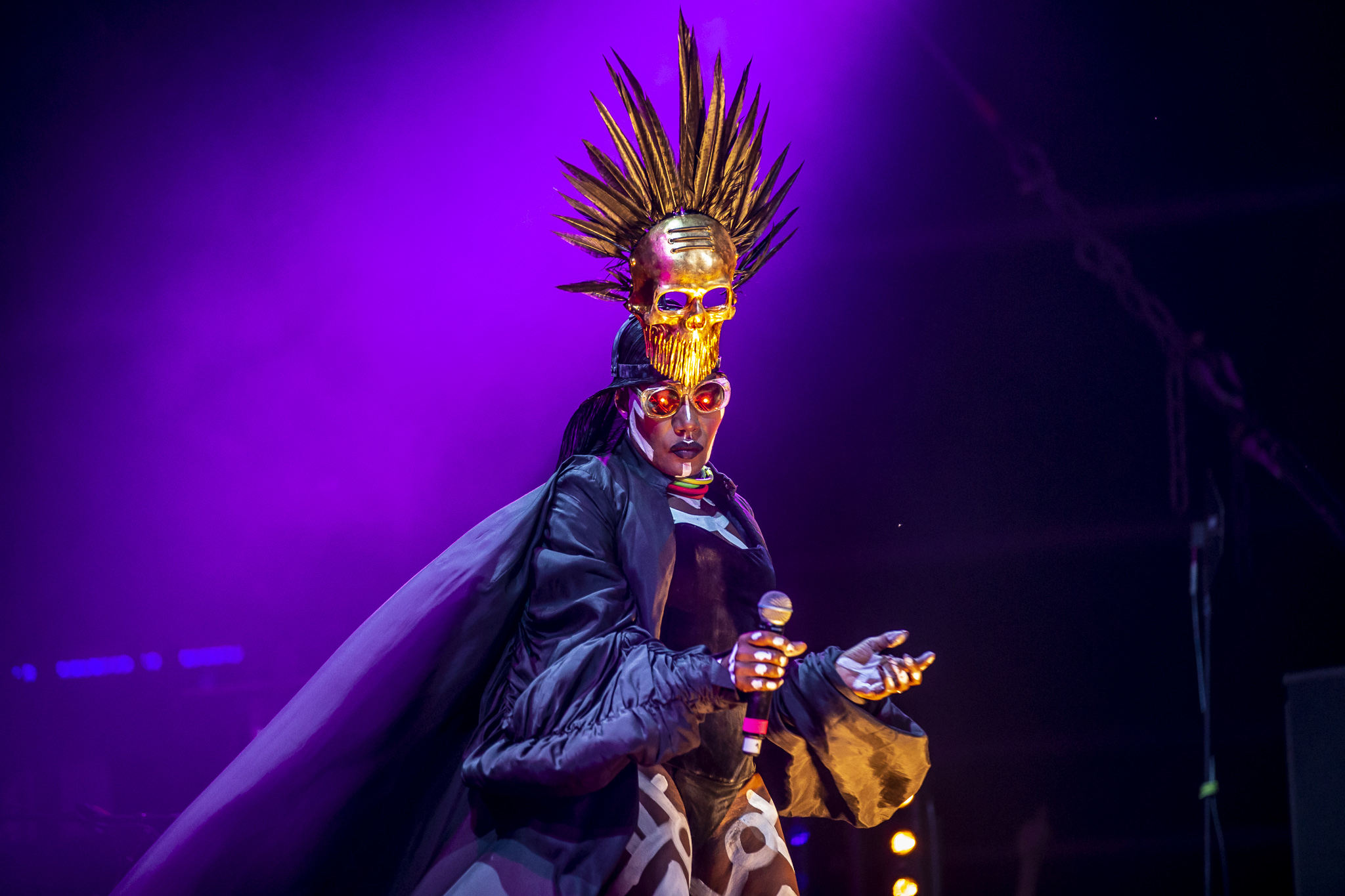 Grace Jones - Foto Zdenko Hanout