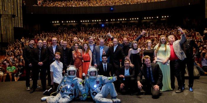 Delegace K Filmu Mars. Všechny Fotografie: Film Servis Festival Karlovy Vary.