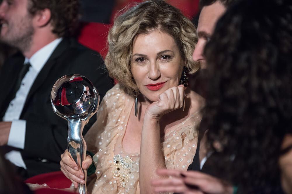 Herečka Mercedes Moran, foto Film servis festival karlovy Vary