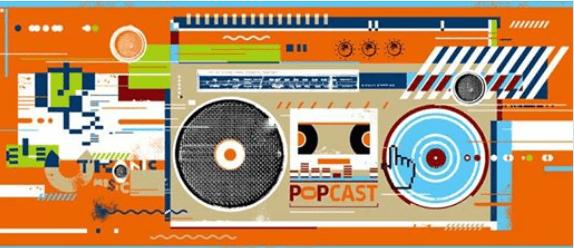 Jadu Popcast Grafika