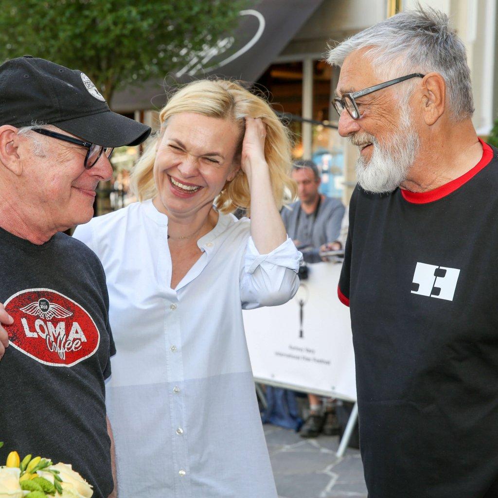 Reditel Festivalu Jiri Bartoska Vita Rezisera Barryho Levinsona