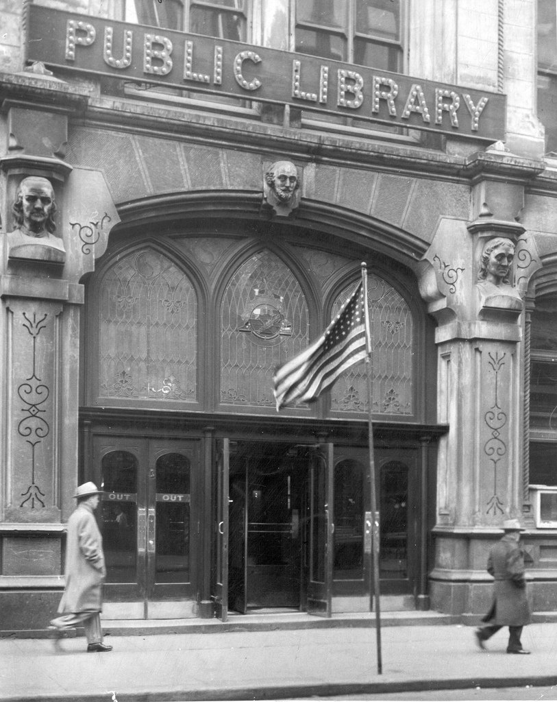 Main Library Entrance