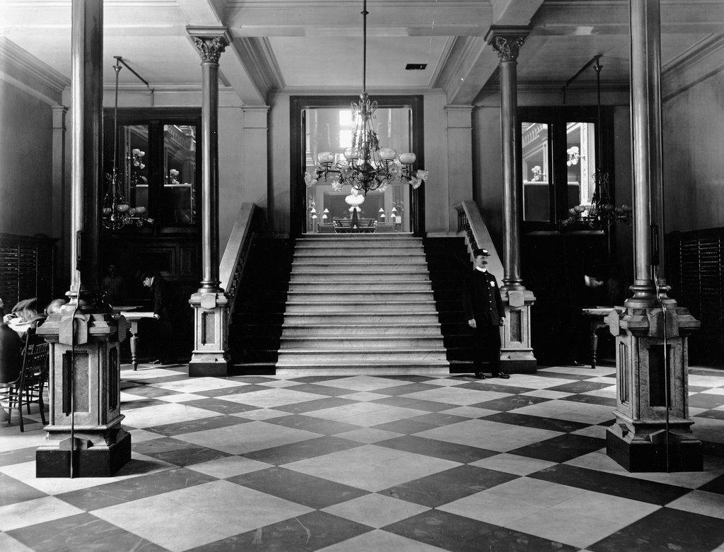 Vestibule, Main Library