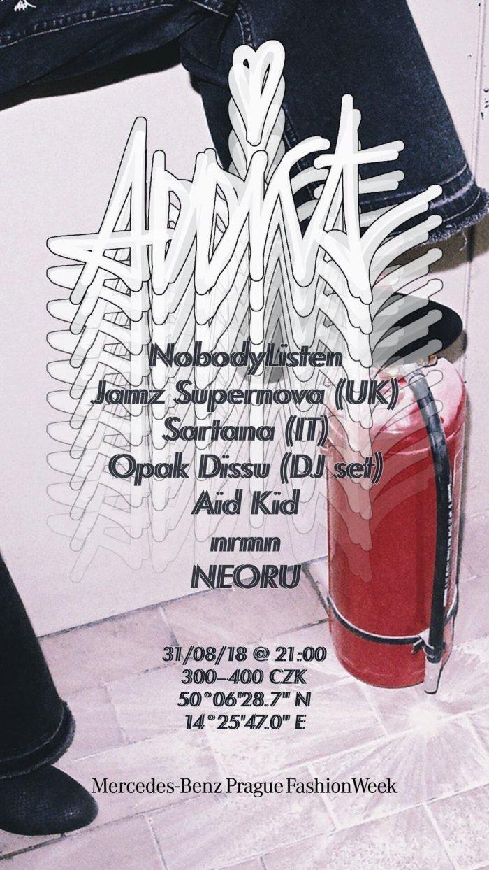 Party Addict Odstartuje Prague Fashion Week 294206f279