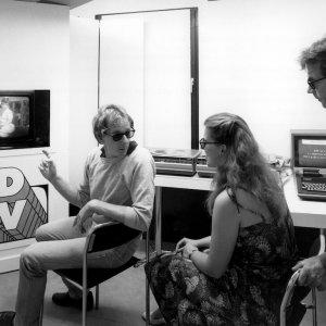 1983 Fernsehen 3 Dimensional ! - Ein Versuchsaufbau im Philips-Pavillon.  1983 3D TV – A experiment set-up at the Philips Pavilion