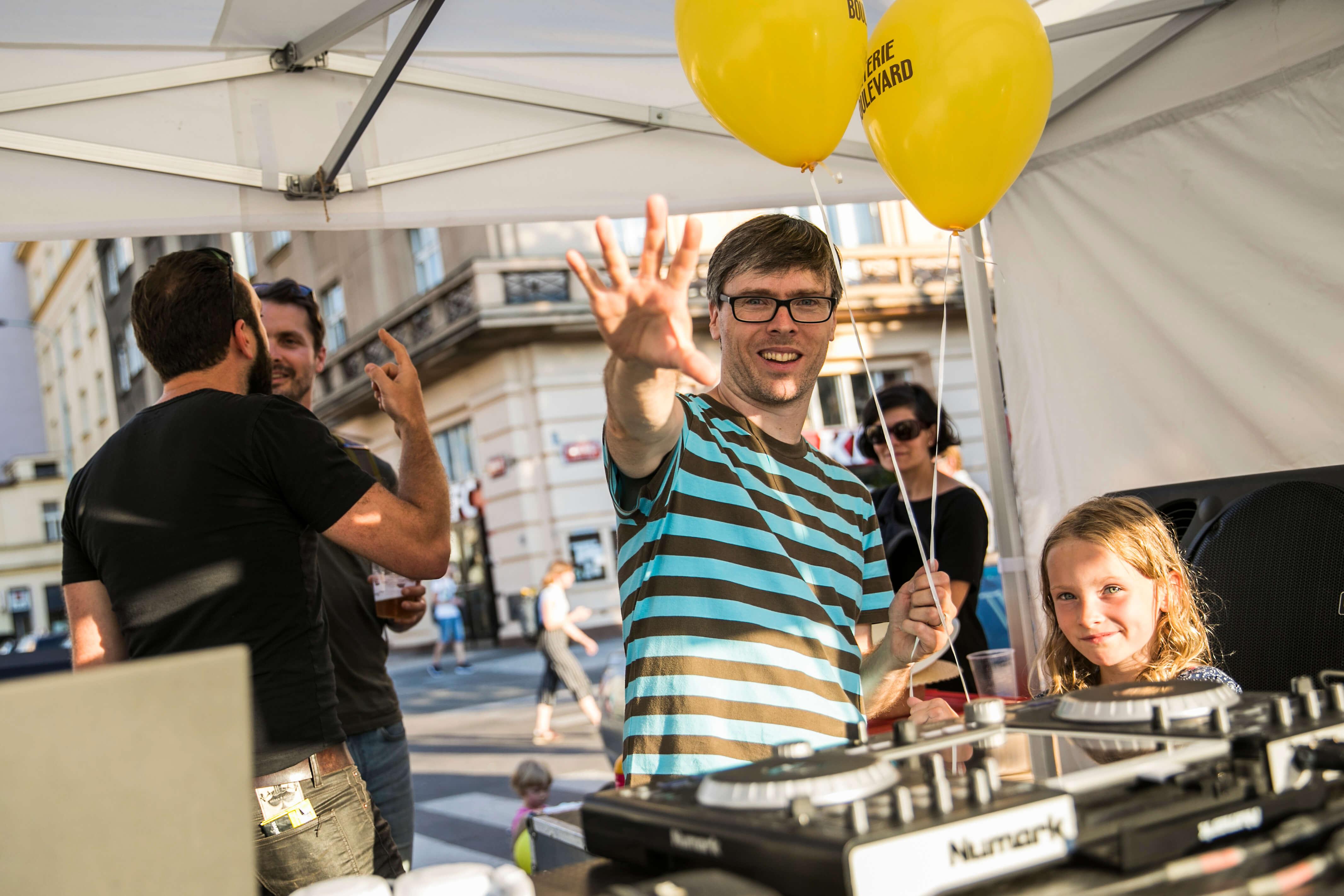 Na 15. výročí BB Mardoša dělal DJe / foto BB