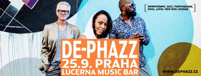 Praha Zažije Pestrobarevný Funk V Podání Kapely De Phazz