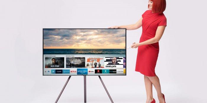 Miss IFA Präsentiert Produktneuheiten Zur IFA 2018: TV Samsung Q9FN Von Samsung  Miss IFA Presents New Products 2018: TV Samsung Q9FN By Samsung. Všechny Fotografie: Zdroj - MESSE BERLIN