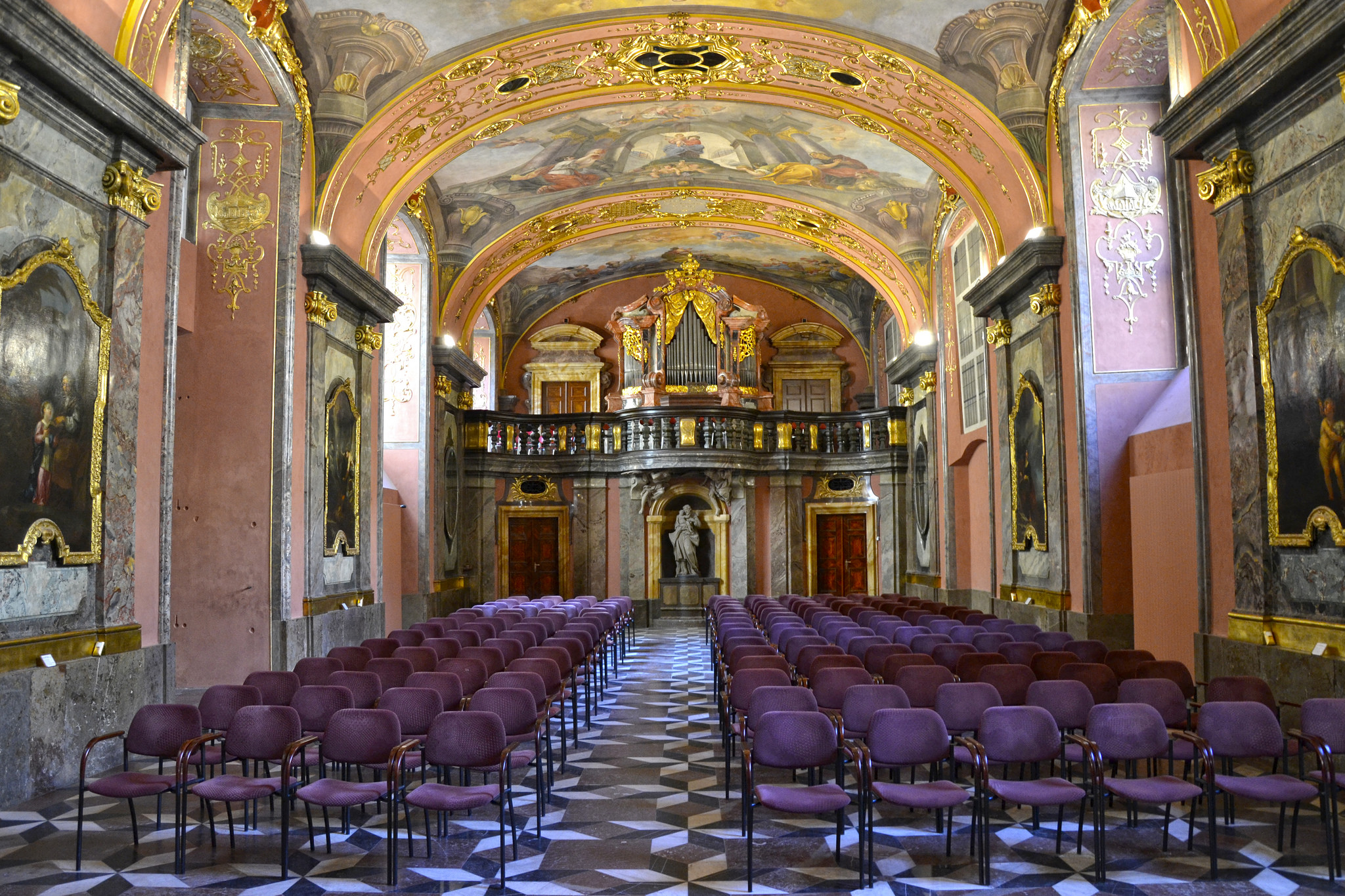 Jeden ze sálů Klementina (ilustrační foto Jon Ander)