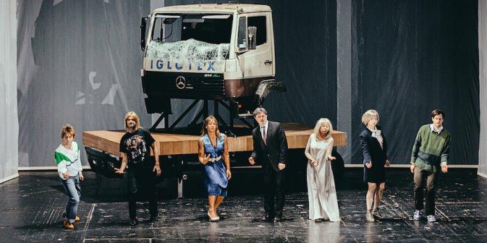 Die Zehn Gebote Regie Stephan Kimmig Foto Volkstheater
