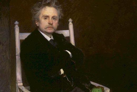 Eilif Peterssen - Edvard Grieg 1891