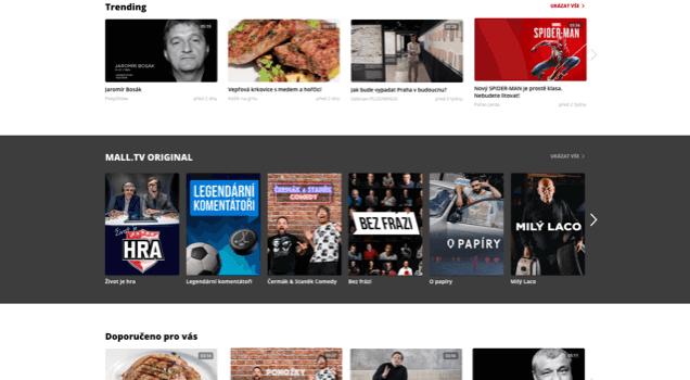 MALL.TV Homepage