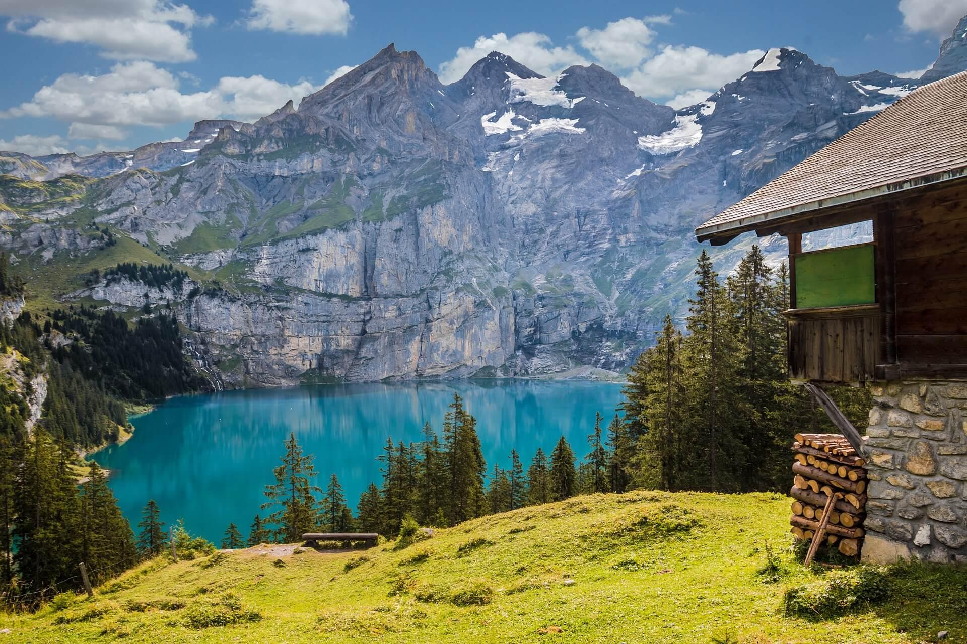 Jezero Oeschinen, foto fxxu / pixabay