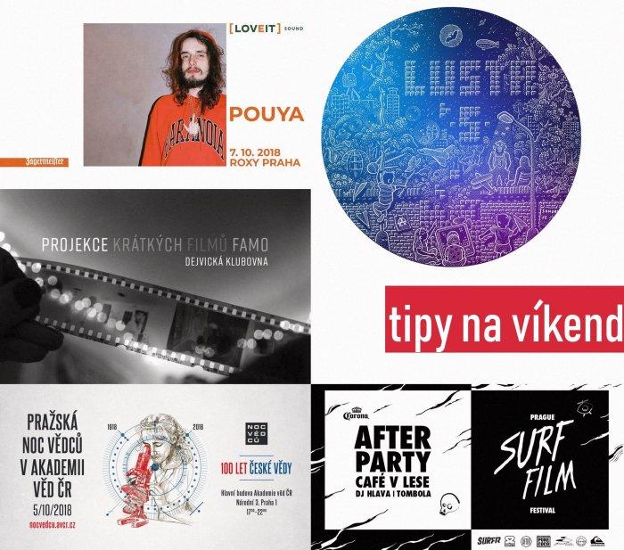 Tipy Na Víkend 5. – 7. 10. 2018