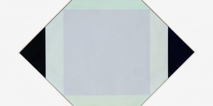 Max Bill, Světlé Jádro, 1972/1973, Olej, Plátno, 62 × 62 Cm Max Bill, Heller Kern / Bright Nucleus, 1972/1973, Oil On Canvas, 62 × 62 Cm    Foto©Galerie Hlavního Města Prahy