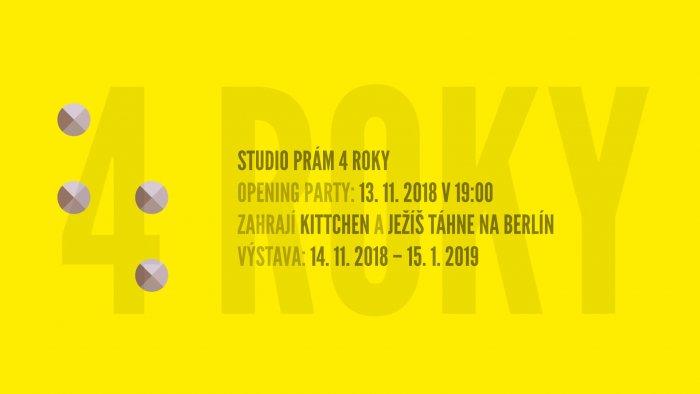 Studio PRÁM Slaví 4 Roky