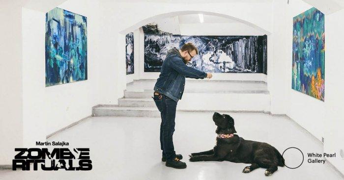 Martin Salajka Bude Mít Dernisáž Výstavy