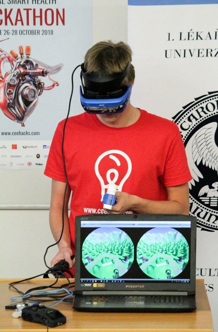 Mluvící Rukavice, Dračí Dech A Virtuální Zdravotní Sestra Vyhrály První  Smart Health Hackaton