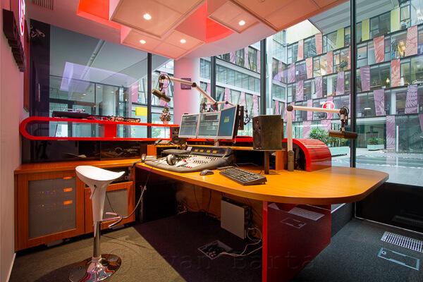 Expres FM - Studio. foto Expres FM