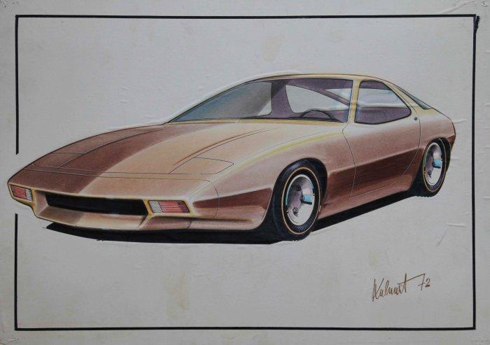 Tip Na Výstavu: Jiří Kuhnert – Sketch The Dream. Ze Zetoru Do Porsche